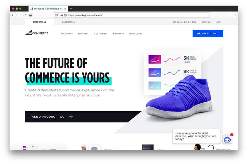 bigcommerce e-commerce software