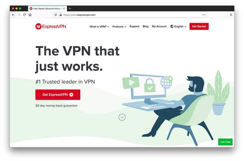 Express VPN Website