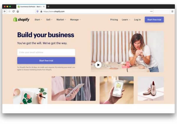 Shopify E-Commerce Software